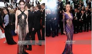Trước Ngọc Trinh, nhiều sao Việt cũng lên thảm đỏ Cannes và 'hở bạo' thế này!