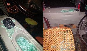 Phú Thọ: Nhiều container bị bắn vỡ kính khi đang lưu thông trong đêm