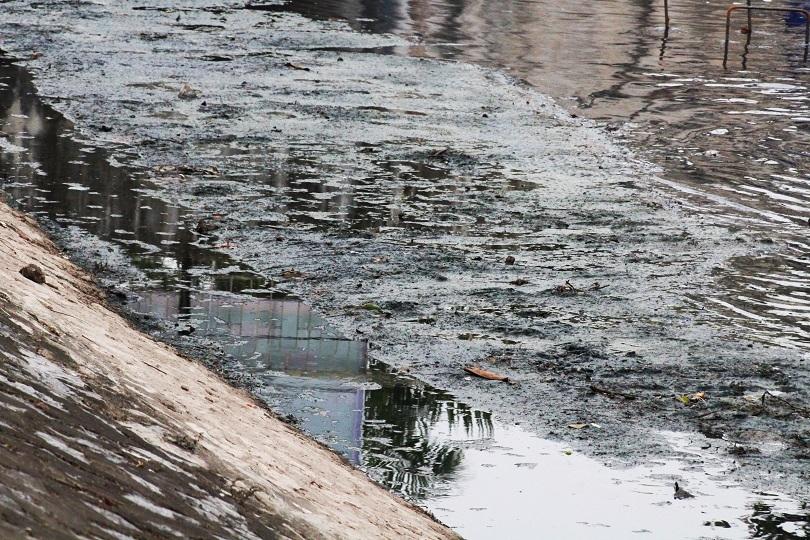 Người dân nói gì về chiếc máy lọc nước thần kỳ dưới sông Tô Lịch