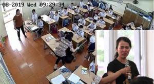 Buộc thôi việc cô giáo tát, đánh tới tấp nhiều học sinh ở Hải Phòng