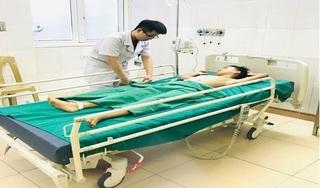 Nghệ An: Cháu bé 10 tuổi bị vỡ gan nguy kịch do ngã xe đạp