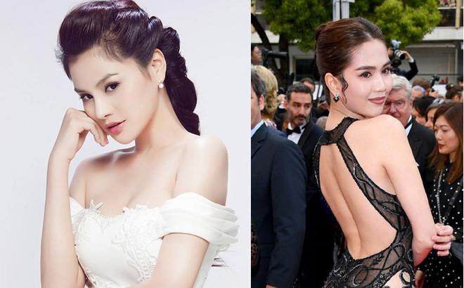 Vũ Thu Phương bức xúc khi Ngọc Trinh mặc phản cảm ở LHP Cannes