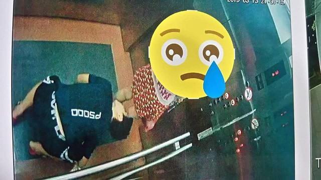 Lại xuất hiện kẻ biến thái nhòm váy bé gái trong thang máy 2