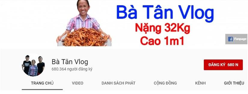 Bất chấp khen chê, Bà Tân Vlog trở thành kênh YouTube tăng trưởng hàng đầu