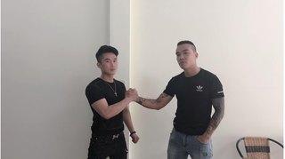 Du Thiên bắt tay và trở thành bạn bè với nam thanh niên hành hung mình