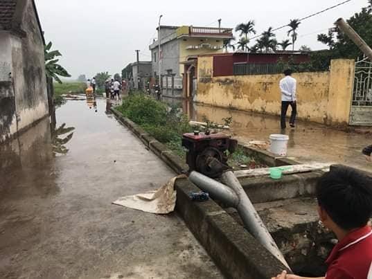 Nam Định: Phát hiện thi thể người đàn ông mất tích nhiều ngày dưới cống