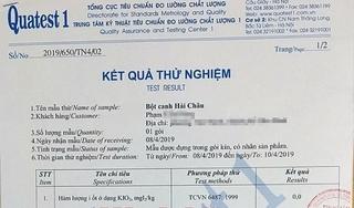 Người tiêu dùng tự đi kiểm nghiệm để chứng minh bột canh i-ốt Hải Châu không có... i-ốt