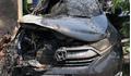 Tranh cãi nguyên nhân xe Honda CR-V bỗng phát bổ, bốc cháy ở Nam Định