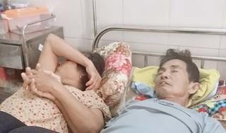 Rớt nước mắt nhìn người vợ nắm tay chồng ung thư giai đoạn cuối