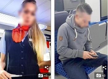 Nữ bảo vệ nhà ga mất việc vì tranh thủ đóng phim khiêu dâm trên tàu