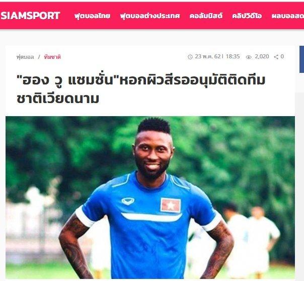 Đội tuyển Việt Nam sẽ rất mạnh ở King's Cup nếu có Hoàng Vũ Samson