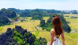 Óng ánh 'Mùa vàng Tam Cốc' giữa non nước Ninh Bình