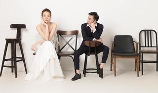 Ngắm ảnh cưới đơn giản, sang trọng của Đàm Thu Trang và Cường Đô la