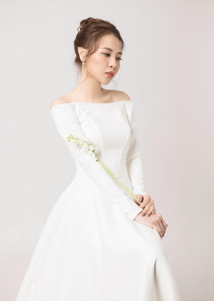 Ngắm ảnh cưới tuyệt đẹp của Đàm Thu Trang và Cường Đô la
