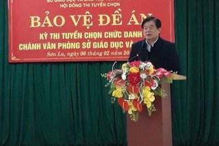 Giám đốc Sở GD&ĐT Sơn La không hồi âm khi bị tố nhờ nâng điểm 8 thí sinh