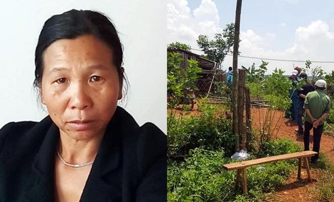 Đã bắt nữ nghi can sát hại 3 bà cháu, chôn xác trong rẫy cà phê