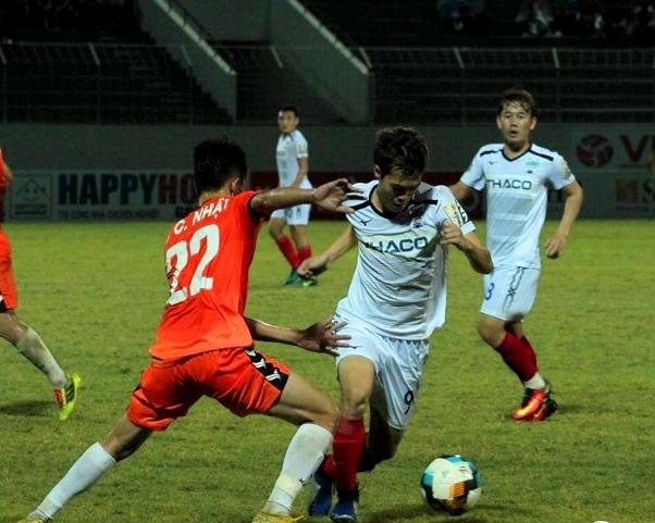 CLB HAGL rơi xuống vị trí thứ 8 sau trận thua Đà Nẵng