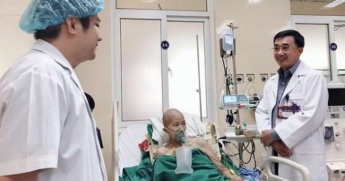 Bệnh viện lên kế hoạch để mẹ con sản phụ bị ung thư vú gặp nhau