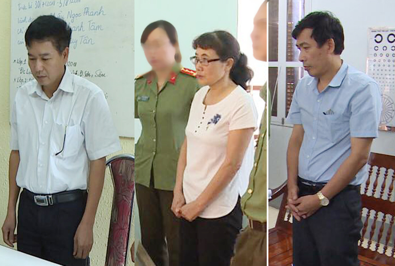Khai trừ Đảng PGĐ Sở GD Sơn La và 7 cán bộ vụ gian lận điểm thi