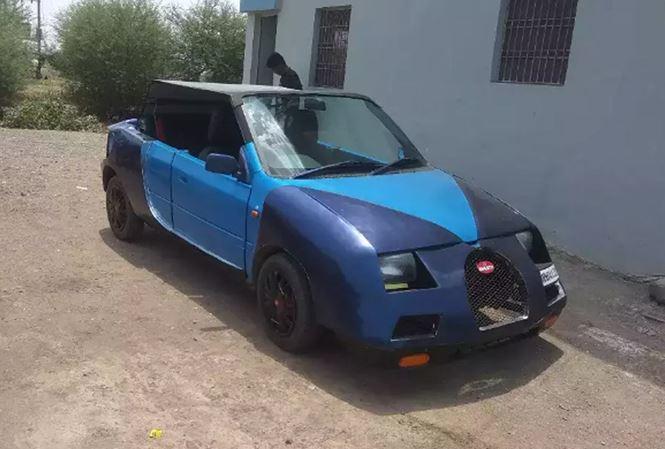 Phì cười siêu xe Bugatti Veyron phiên bản Ấn Độ chi 134 triệu