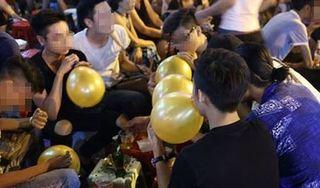Bộ Y tế ủng hộ Hà Nội cấm sử dụng bóng cười trong vui chơi, giải trí