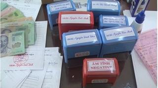 Hưng Yên: Triệt phá đường giây làm giả giấy tờ của Bệnh viện Bạch Mai
