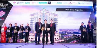 Phuc Khang Corporation lần thứ 3 được vinh danh Top 10 nhà phát triển BĐS hàng đầu Việt Nam