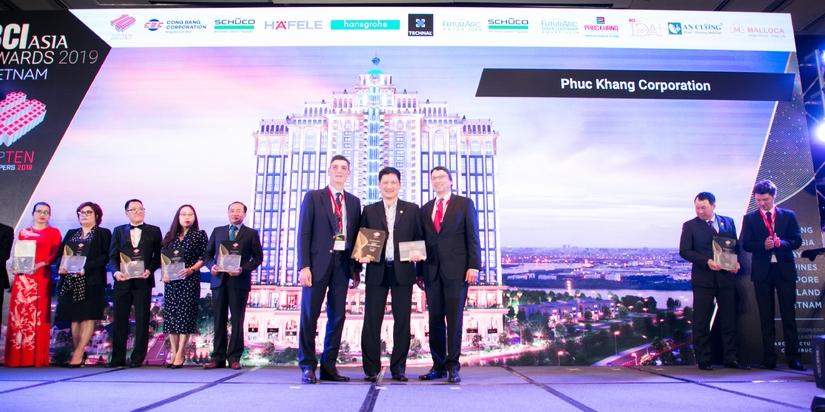 Phuc Khang Corporation lần thứ 3 liên tục được vinh danh 1