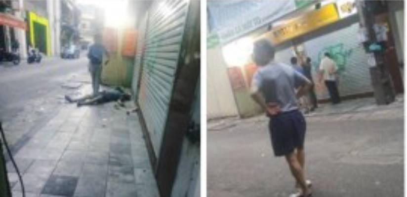 Hà Nội: Tá hoả phát hiện người đàn ông ngoại quốc tử vong trước nhà dân