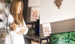 Nam Em đăng clip ru thú cưng ngủ và nhận mình sẽ là số 1 trong showbiz Việt