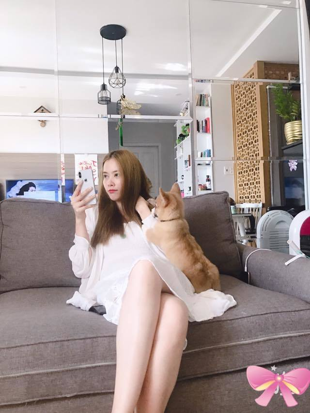 Nam Em đăng clip ru thú cưng ngủ và nhận sẽ là số 1 showbiz Việt