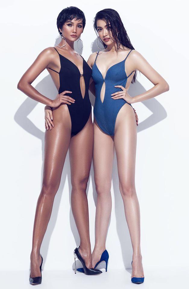 H'Hen Niê, Lệ Hằng khiến fan phát sốt khi diện bikini chào hè