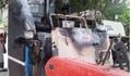 Thái Bình: Máy gặt lúa bất ngờ bốc cháy trong đêm, nghi bị kẻ xấu phóng hỏa