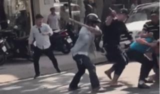 Tiết lộ nguyên nhân vụ hỗn chiến kinh hoàng giữa phố, 2 người bị đánh nhập viện
