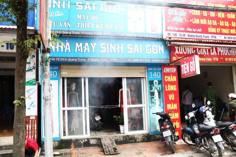Thông tin mới nhất vụ người chủ tiệm may tử vong ở Thái Nguyên