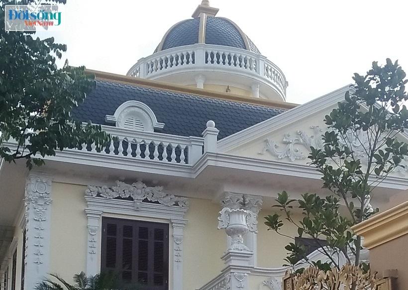Chiêm ngưỡng lâu đài tiền tỷ của Phó Chũ tịch xã Tân Tiến04