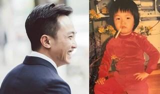 Đàm Thu Trang tung ảnh Cường Đô la thời ấu thơ 'ngố tàu', tóc cắt như con gái