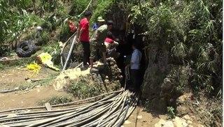 """Người đàn ông mắc kẹt ở Lào Cai: Công tác cứu hộ trở lại """"vạch xuất phát"""" vì mưa lớn"""