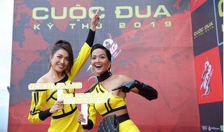 Lệ Hằng bất ngờ 'tố cáo' H'Hen Niê ở Cuộc đua kỳ thú 2019
