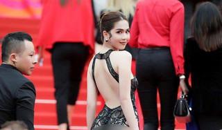 Báo Hàn Quốc lại 'mổ xẻ' chiếc váy 'mặc như không' của Ngọc Trinh