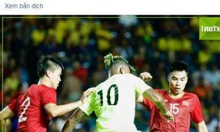 Người Thái: 'Bóng đá Việt Nam giờ đã bỏ xa chúng ta'