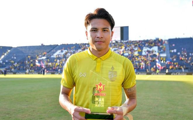 Tiền vệ Thitipan Puangchan của Thái Lan giành giải Cầu thủ xuất sắc nhất giải đấu