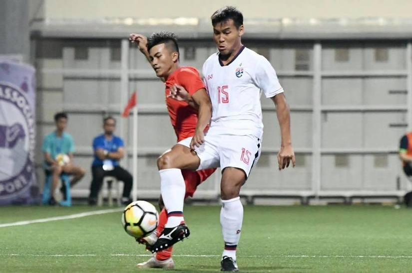 Cầu thủ U23 Thái Lan bị tố triệt hạ đối thủ ở giải Merlon Cup 2019