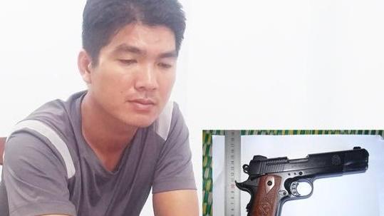Nam thanh niên mang súng đi cướp của cụ ông 70 tuổi để lấy tiền trả nợ thua bạc