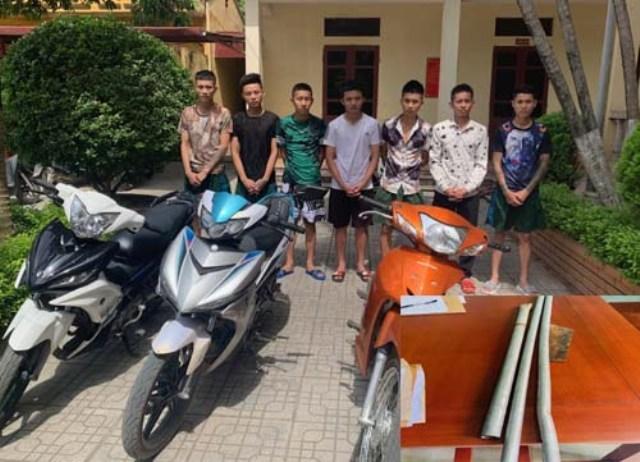 Thanh Hoá: 7 đối tượng mang theo hung khí tấn công công an xã