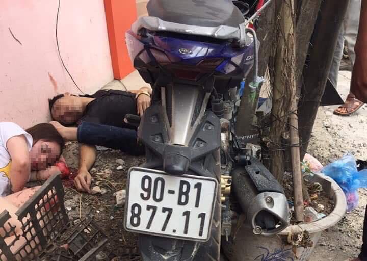 Nam thanh niên chở vợ sắp cưới tông vào cột điện đang được điều trị tại Bệnh viện Việt Đức.