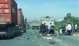 Danh tính 2 nạn nhân t.ử v.ong sau vụ va chạm với xe tải ở Hà Nam