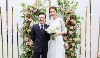 Đàm Thu Trang lên tiếng về tin đồn mang bầu trước khi cưới Cường Đô la