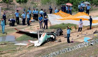 Danh tính 2 phi công hy sinh khi máy bay quân sự rơi ở Khánh Hòa