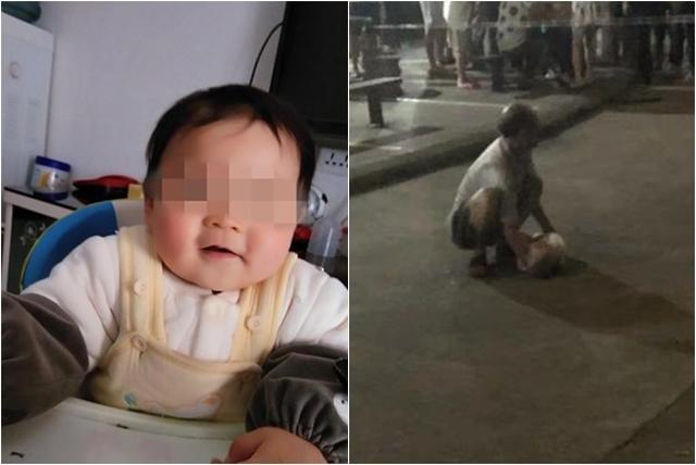 Bố nhẫn tâm ném con 1 tuổi từ tầng 6 xuống đất chỉ vì cãi vã với ông bà